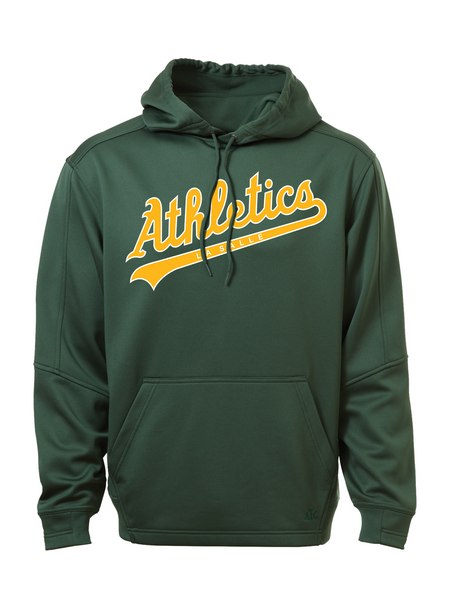 LaSalle Athletics Adult Dri-Fit Hoodie with Embroidered Applique Logo