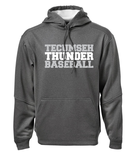 Thunder Adult 'Baseball Block' Dri-Fit Hoodie