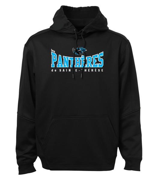 Pantheres Youth Dri-Fit Hoodie with Embroidered Applique Logo