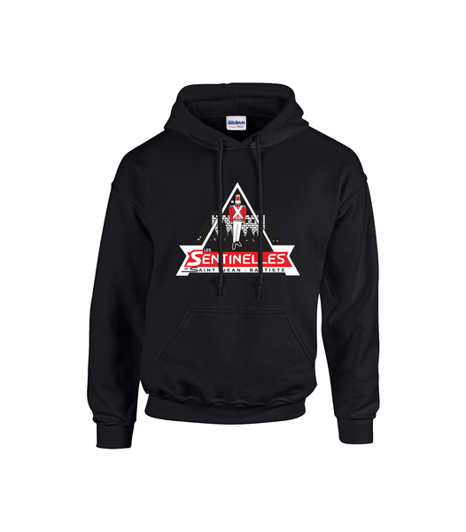 Sentinelles Youth Cotton Hooded Sweatshirt with Printed Logo