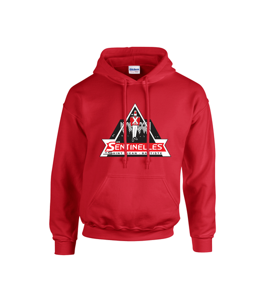 Sentinelles Adult Cotton Hooded Sweatshirt with Printed Logo