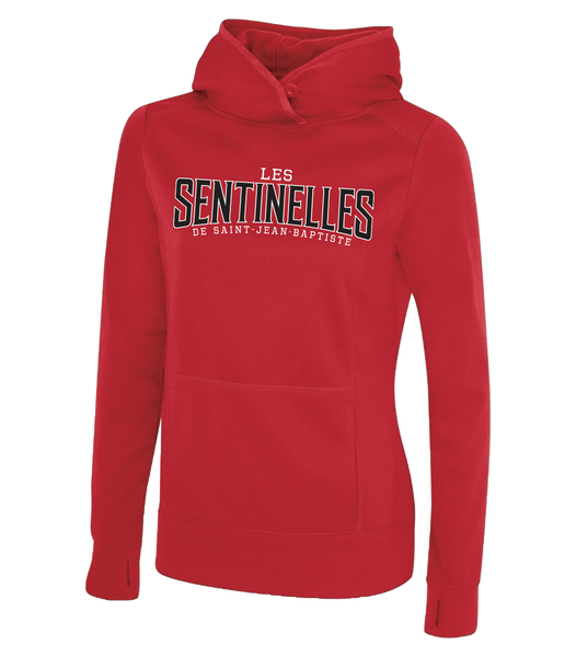 Sentinelles Ladies Dri-Fit Sweatshirt with Embroidered Applique