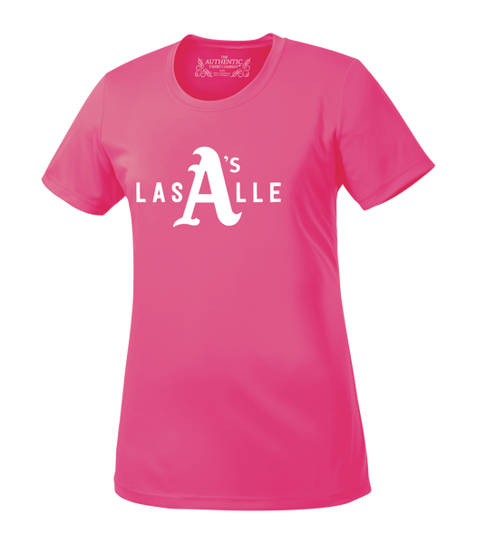Athletics Ladies 'LaSalle Big A' Performance Tee