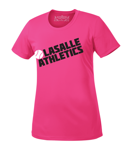 Athletics Ladies 'Block Slant' Performance Tee