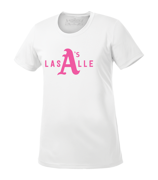 LaSalle Athletics Ladies 'LaSalle Big A' Dri-Fit Tee