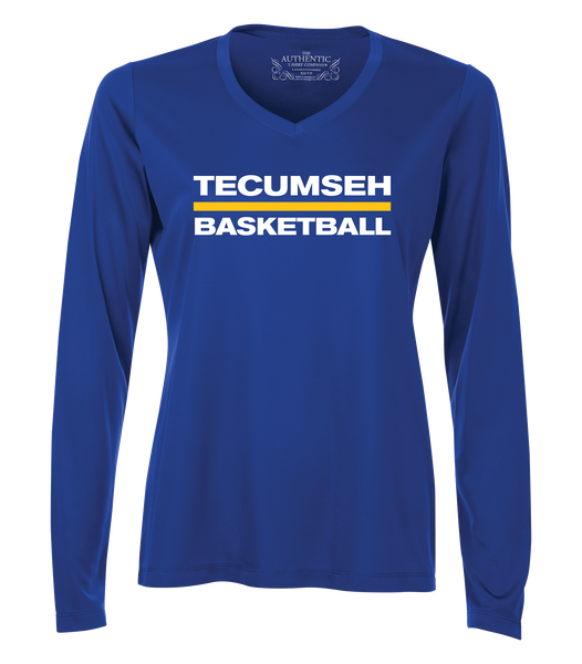 Tecumseh Saints Womens Dri-Fit Long Sleeve
