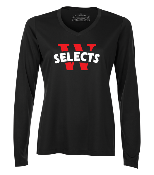 Windsor Selects Womens Dri-Fit Long Sleeve