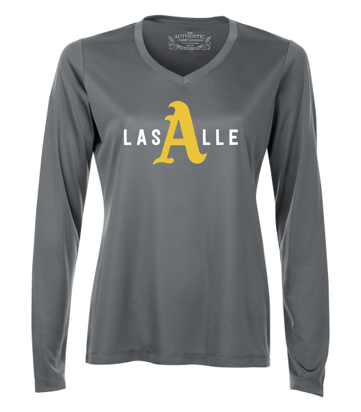 Athletics Ladies 'LaSalle Big A' Dri-Fit Long Sleeve