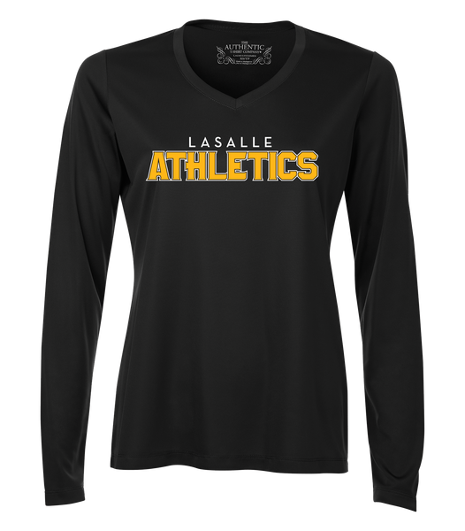 Athletics Ladies 'Outline Block' Dri-Fit Long Sleeve