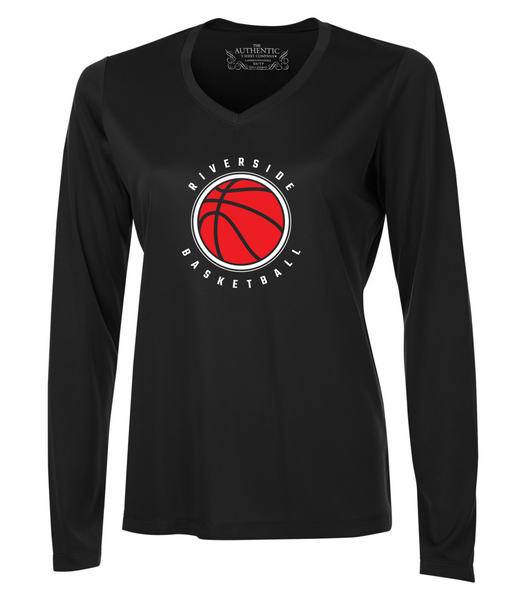 Falcons Ladies Basketball Shooter Dri-Fit Long Sleeve