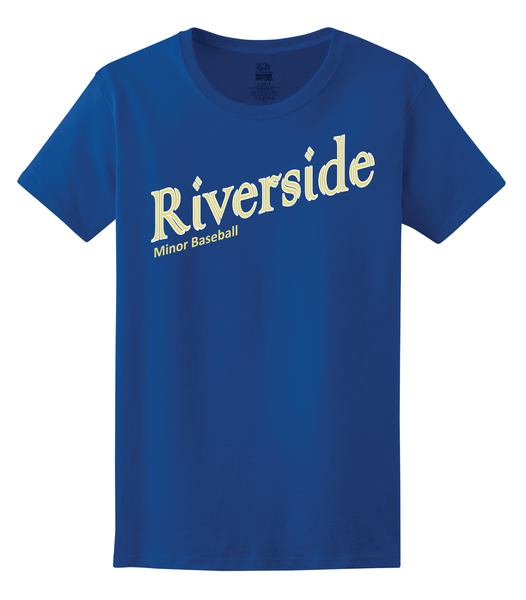 Riverside Minor Baseball Ladies Tee