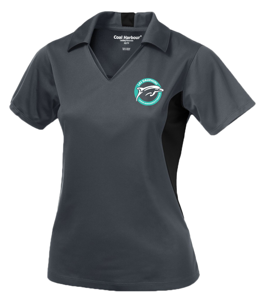 Dauphins Staff Ladies' Sport Shirt Colour Block