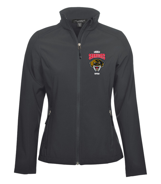 Sabrecats Soft Shell Ladies Jacket with Embroidered Left Chest