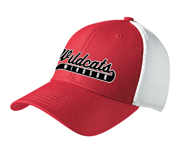 Windsor Wildcats Stretch Mesh Cap