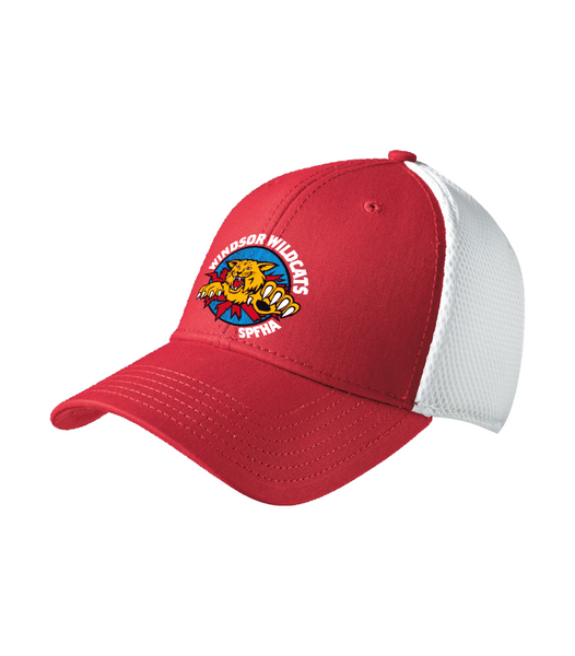 Wildcats Hockey Mesh Hat