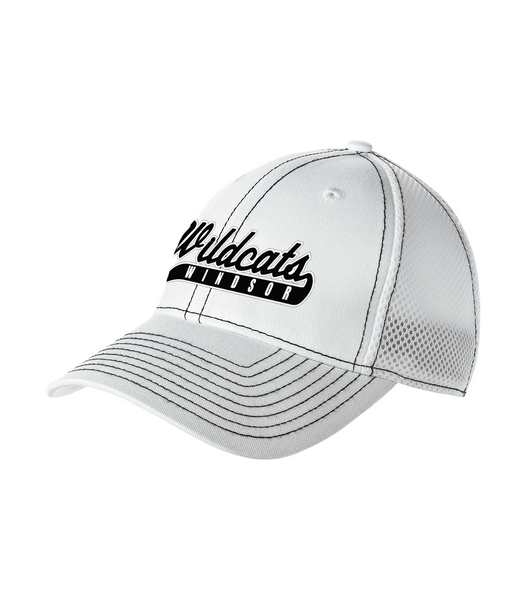 Windsor Wildcats Stretch Mesh Contrast Cap