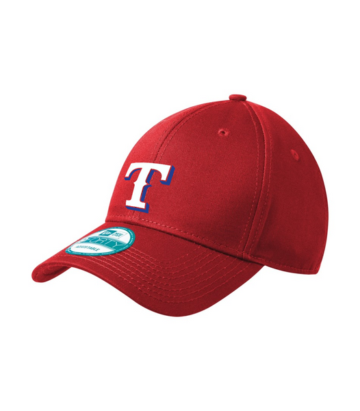 Rangers New Era Adjustable Structured Cap