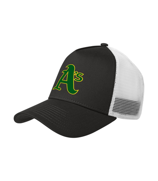 Athletics New Era Snapback Trucker Cap