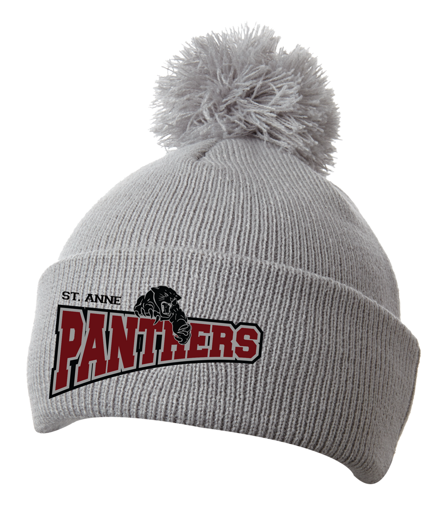 Panthers Pom Pom Toque