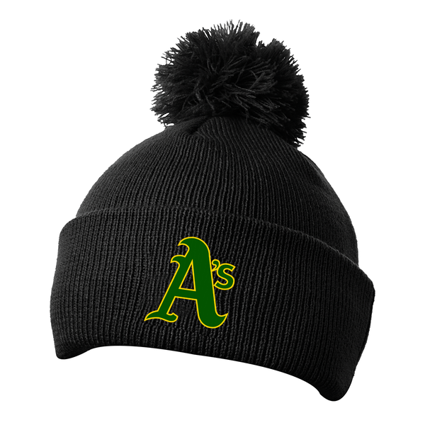 LaSalle Athletics Pom Pom Toque