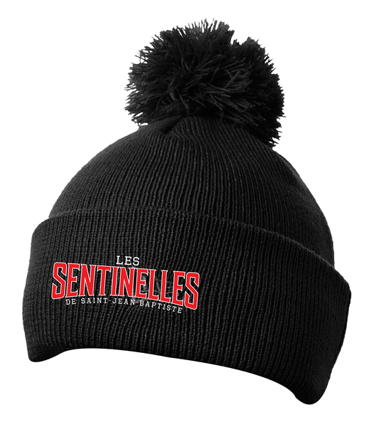 Sentinelles Pom Pom Toque with Embroidered Logo