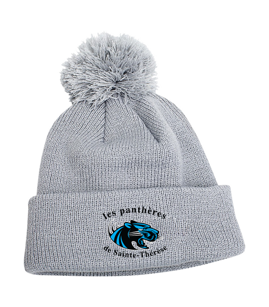 Pantheres Pom Pom Toque with Embroidered Logo