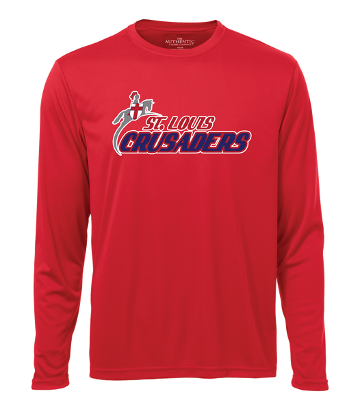 Crusaders Youth/Adult Cotton Long Sleeve Shirt