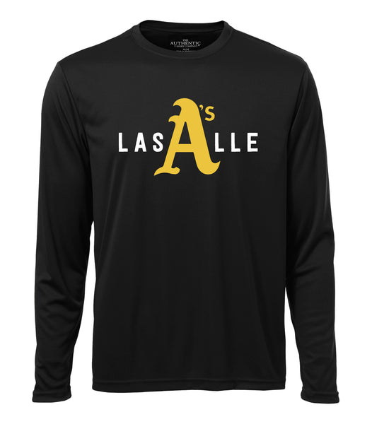 LaSalle Athletics 'LaSalle Big A' Adult Dri-Fit Long Sleeve