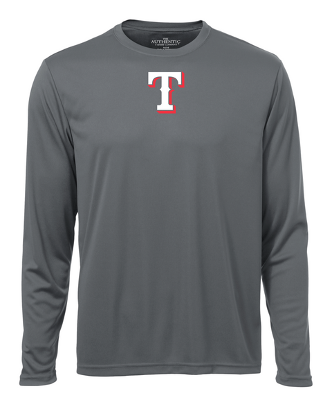 "Tecumseh Rangers Adult ""T"" Logo Dri-Fit Long Sleeve"