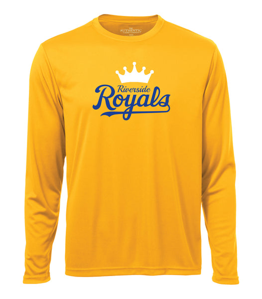 Royals Adult 'Crown Script' Dri-Fit Long Sleeve