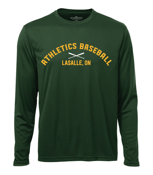 LaSalle Athletics 'Dugout Logo' Adult Dri-Fit Long Sleeve
