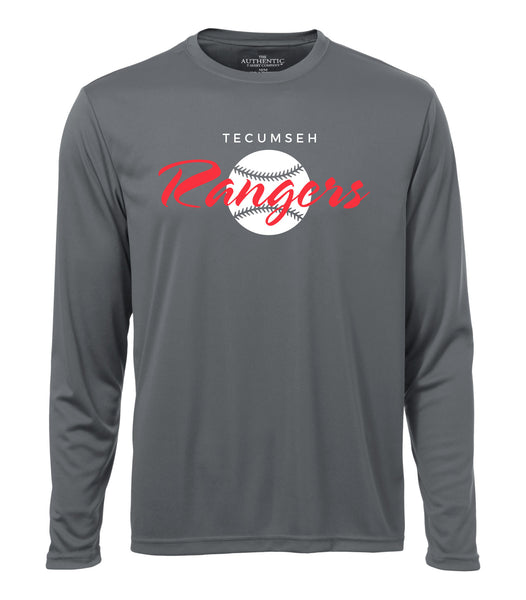 Tecumseh Rangers 'Vintage Logo' Dri-Fit Long Sleeve Shirt