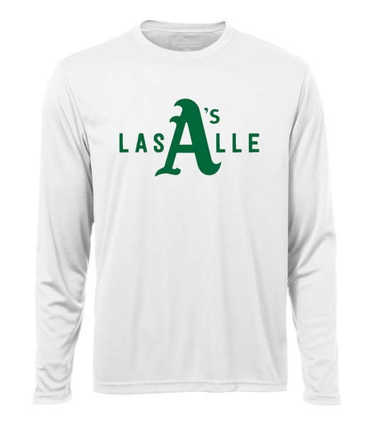 Athletics Adult 'LaSalle Big A' Dri-Fit Long Sleeve