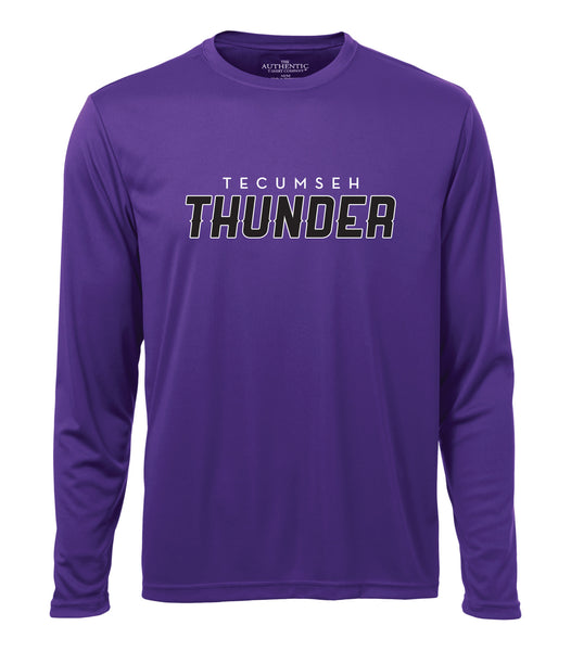 Tecumseh Thunder 'Speed Logo' Dri-Fit Long Sleeve