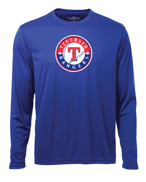 Rangers Adult Dri-Fit Long Sleeve