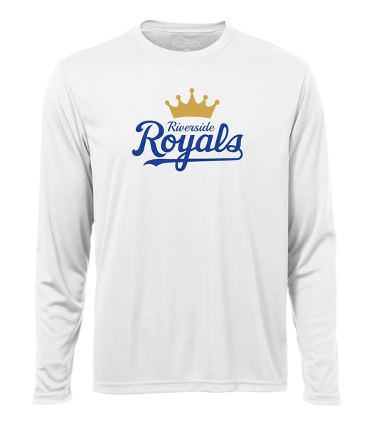 Riverside Royals 'Crown Script' Dri-Fit Long Sleeve