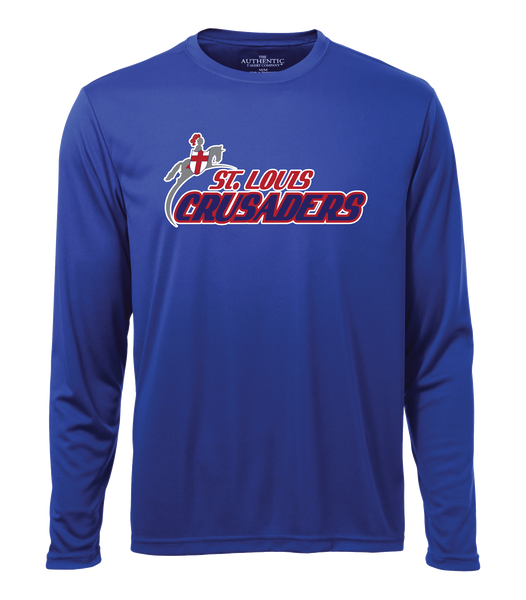 Crusaders Adult Cotton Long Sleeve Shirt