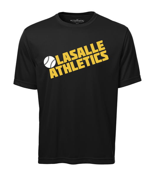 LaSalle Athletics 'Block Slant' Adult Dri-Fit Tee