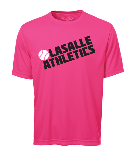 LaSalle Athletics 'Block Slant' Youth Dri-Fit Tee
