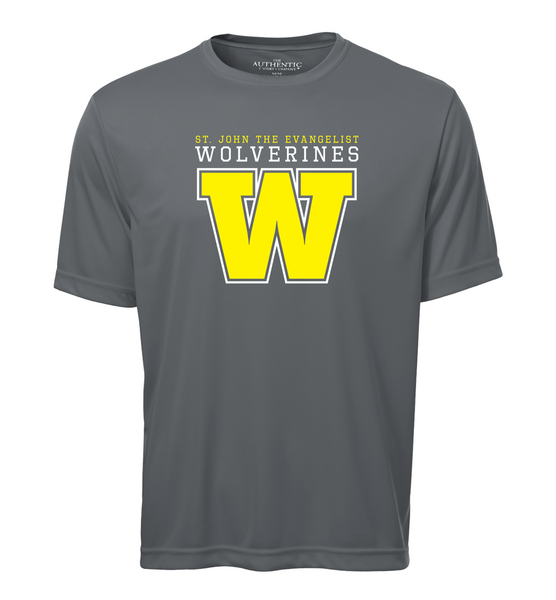 Wolverines Adult Dri-Fit T-Shirt with Printed Logo