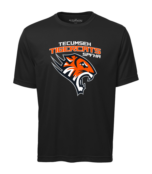 Tiger Cats Dri-Fit Adult Tee with Printed Logo