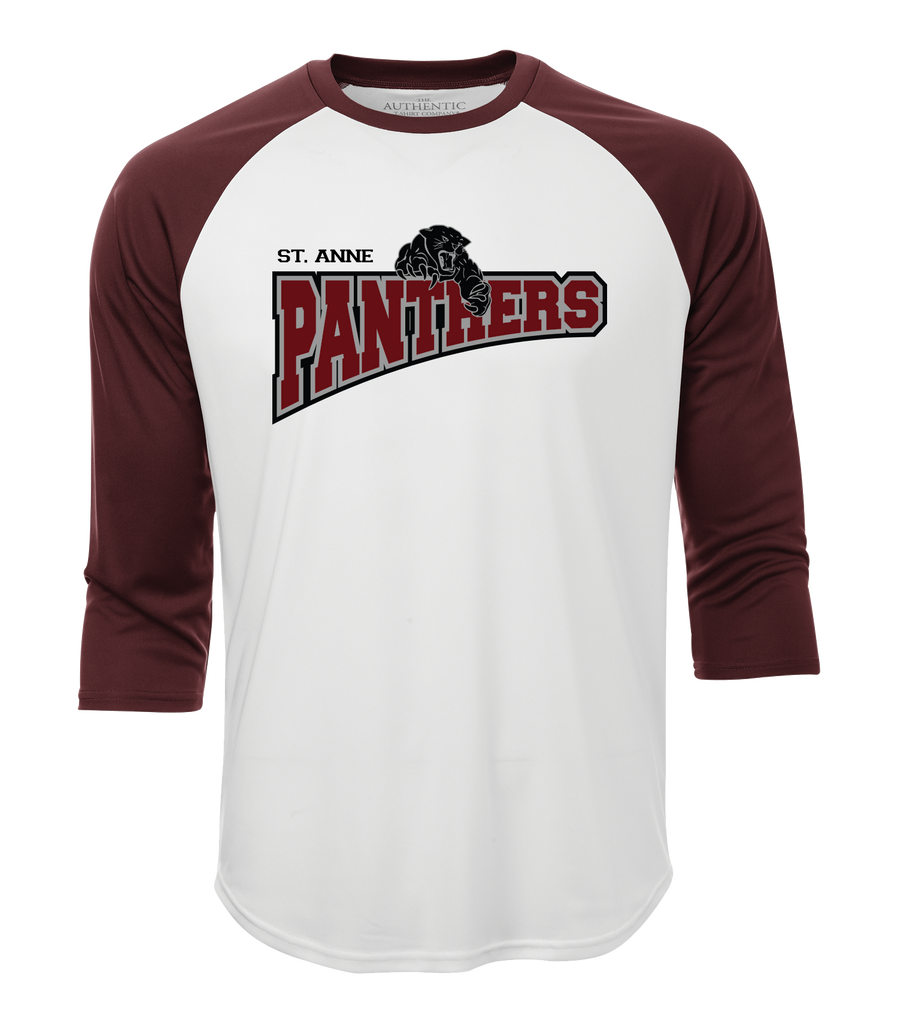 Panthers Adult Dri-Fit Baseball Tee