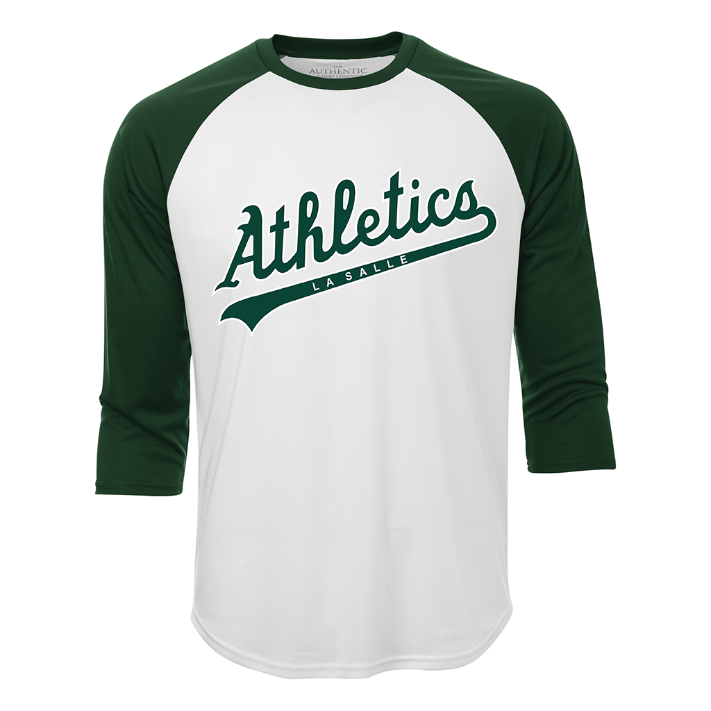 LaSalle Athletics Adult Dri-Fit Baseball Shirt