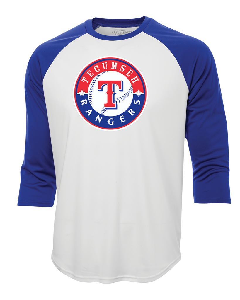 Rangers Adult Dri-Fit Baseball Tee