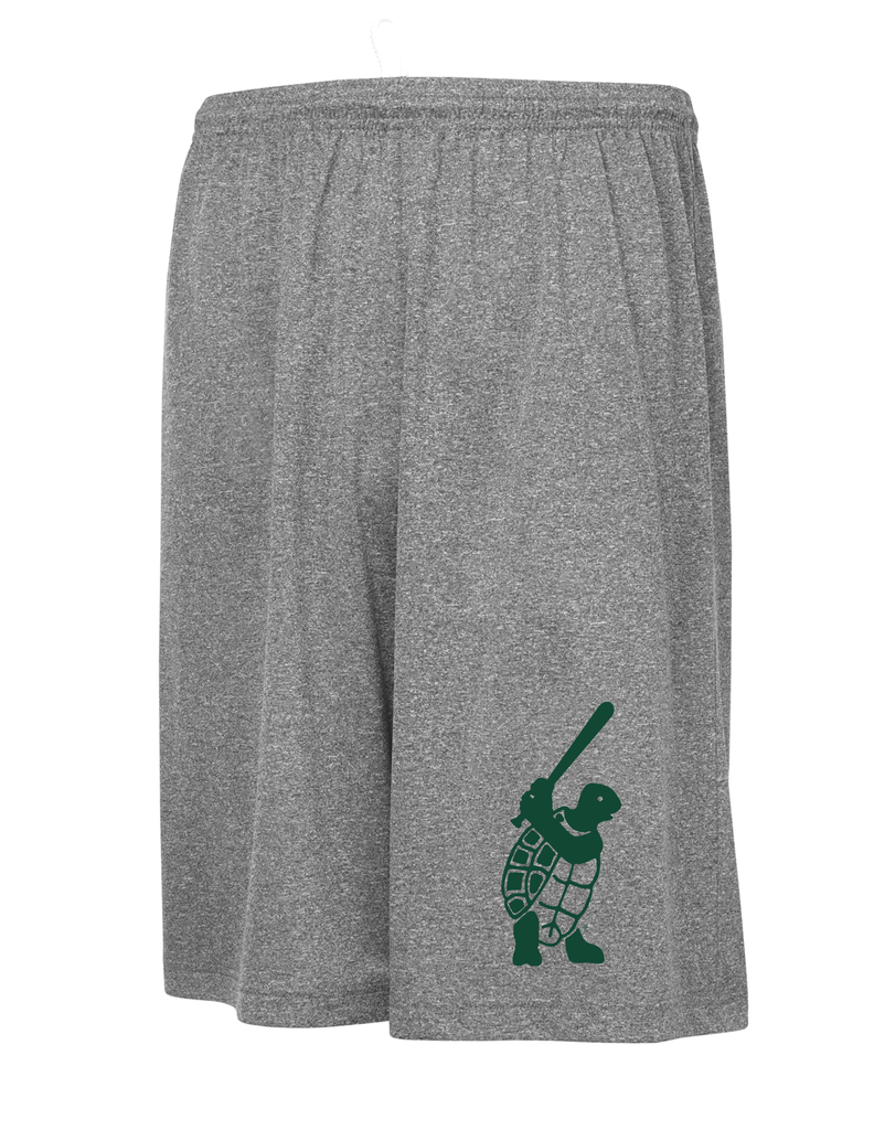 "Adult ""Turtle Logo"" Practice Shorts"