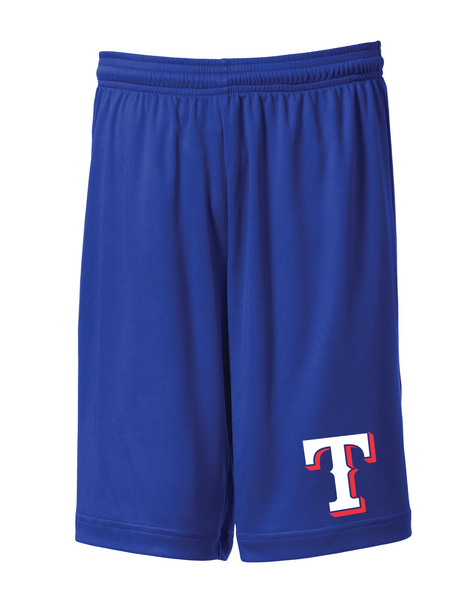 "Rangers Youth ""T"" Logo Pro Team Shorts"