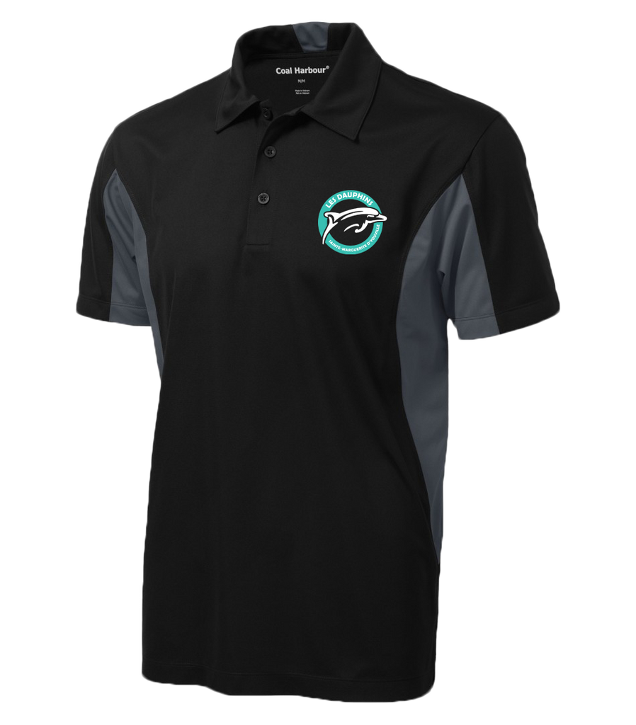 Dauphins Staff Sport Shirt Colour Block