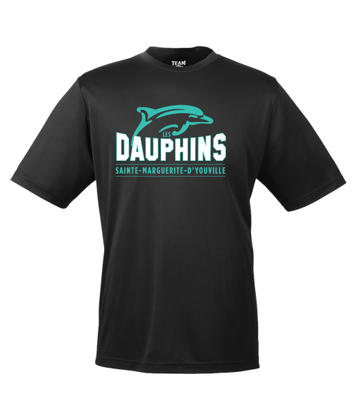 Dauphins Adult Dri-Fit T-Shirt with Printed Logo