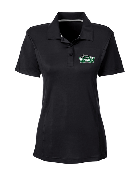 Warlocks Ladies Polo with Embroidered Logo