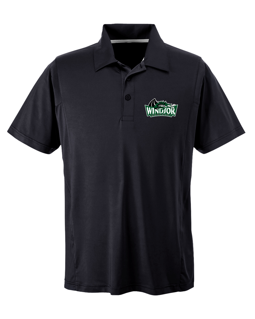 Warlocks Adult Polo with Embroidered Logo